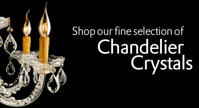 Chandelier Crystal Parts At, Glass Chandelier Replacement Crystals